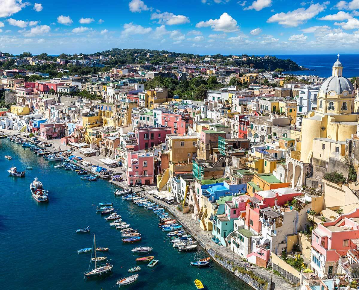 The Islands By Helicopter Capri Ischia Procida